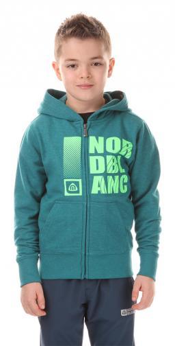 Nordblanc Dětská mikina - tmavě zelená