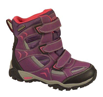 Peddy Dívčí outdoorové boty s membránou - fialové