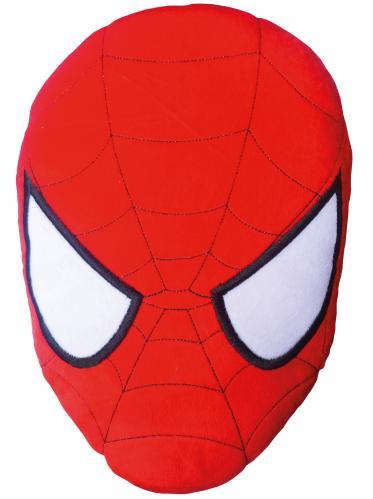 CTI Dětský 3D polštář Spiderman, 36x26 cm - červený
