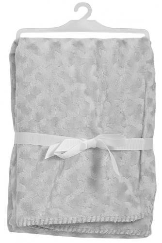 Baby Dan Dětská deka double fleece oboustranná, 75x100 cm - šedá
