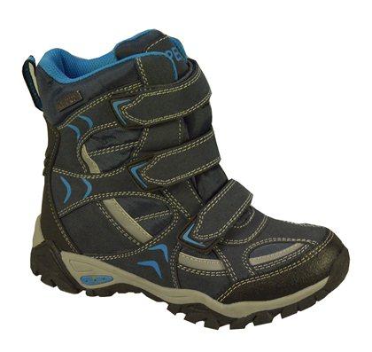 Peddy Chlapecké outdoorové boty s membránou - modré