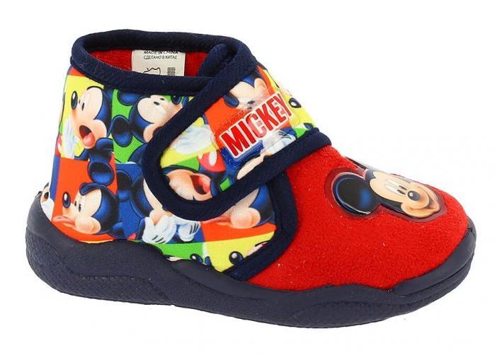 Disney by Arnetta Chlapecké bačkůrky Mickey Mouse - barevné