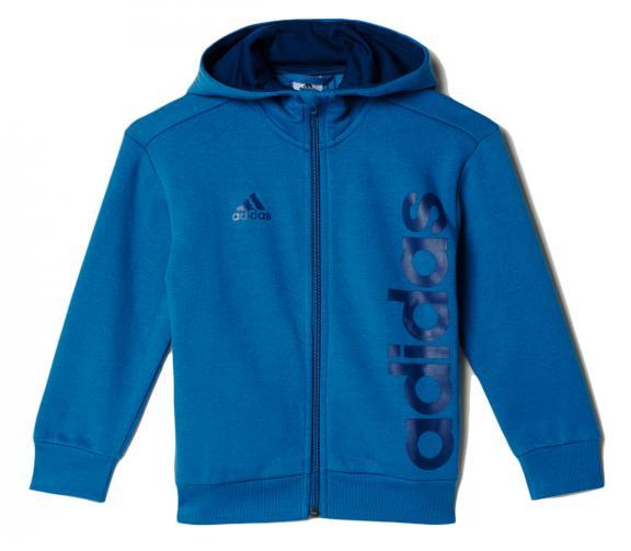 adidas Chlapecká mikina - modrá
