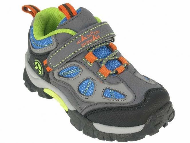 Beppi Chlapecké outdorové boty - šedo-modré