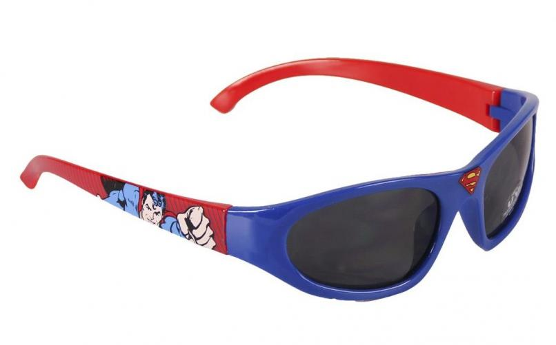 Disney Brand Chlapecké sluneční brýle Superman - modro-červené