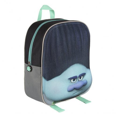 Disney Brand Dětský batůžek Trollové, šedivý