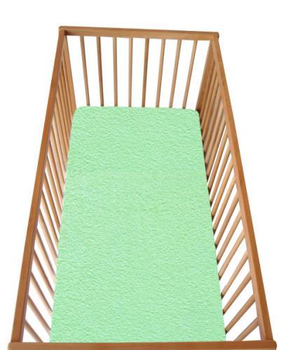 Cosing Dětské prostěradlo s gumou zelené 120x60 cm