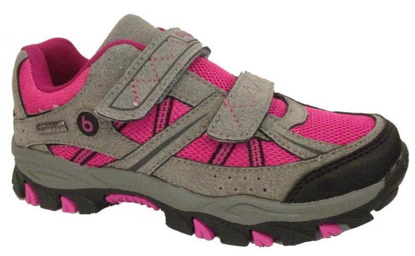 Bugga Dívčí softshellová obuv - šedo-růžová