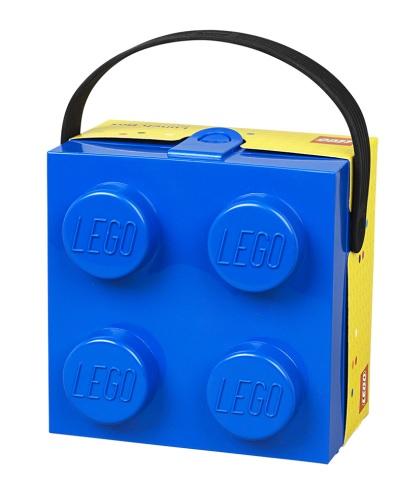 LEGO® Storage Úložný box s rukojetí - modrý