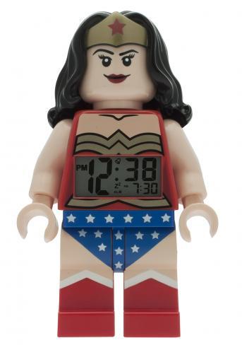 LEGO® Watch & Clock Dětské hodiny s budíkem DC Super Heroes Wonder Woman