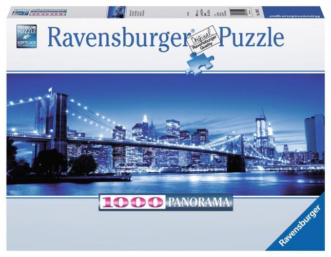 Ravensburger Rozzářený New York 1000 dílků panorama