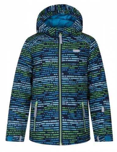 LOAP Chlapecká bunda Zengo - zelená