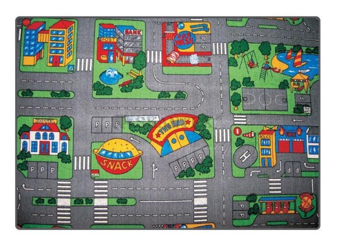 Vesna Dětský koberec City, 140x200 cm - barevný