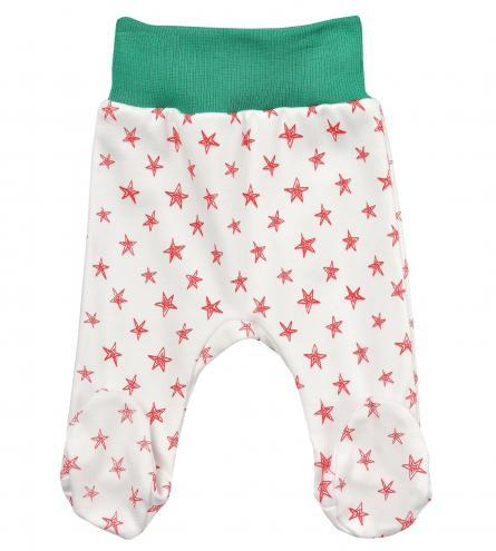 Garnamama Dětské polodupačky s hvězdičkami - barevné