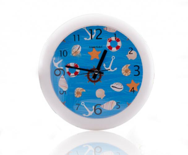 Florina Nástěnné hodiny námořnické - modré
