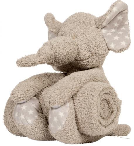 "Bo Jungle Plyšová hračka s dekou ""Elephant"""