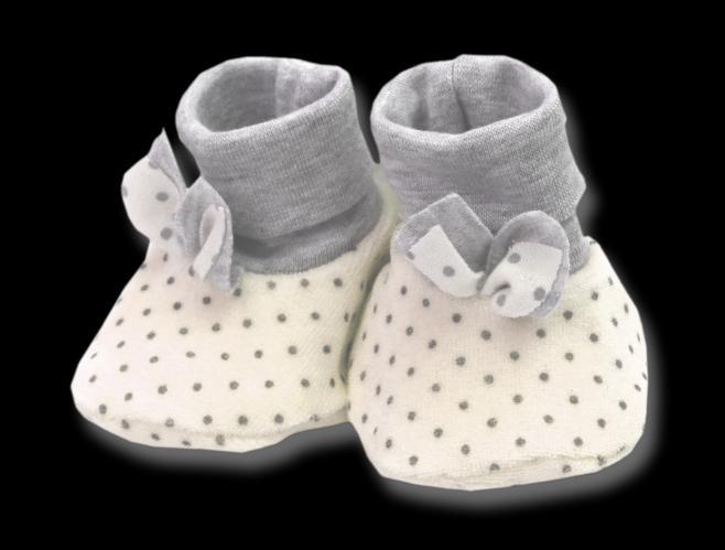 Lafel Dívčí puntíkované ponožky/capáčky Cat - béžové