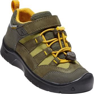 Keen Chlapecké outdoorové boty Hikeport WP - hnědo-žluté