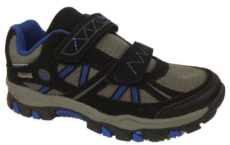 Bugga Chlapecká softshellová obuv - šedo-černá