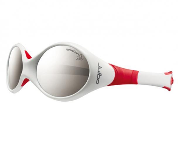 Julbo Dívčí sluneční brýle Looping II SP4, červeno-bílé