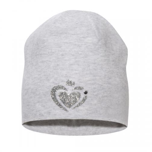 Broel Dívčí čepice Basic 74 - šedá