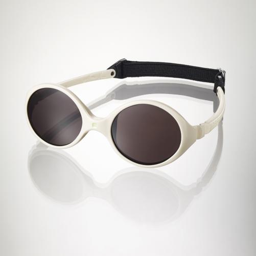 Ki ET LA Dětské sluneční brýle Diabola (0-18 měsíců) - krémové