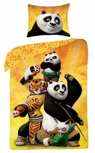 Halantex Dětské oboustranné povlečení Kung Fu Panda, 140x200 cm