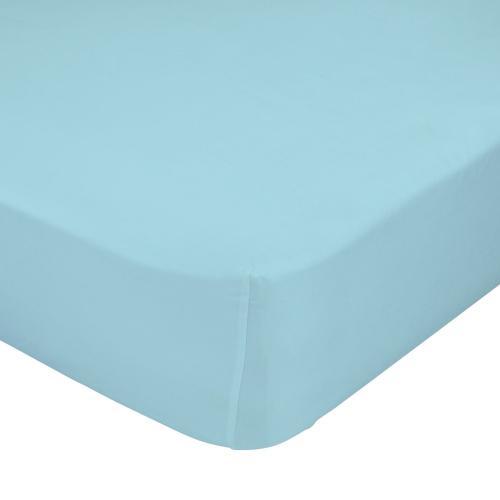 Mr. FOX Bavlněné prostěradlo, 70x140 cm - modré