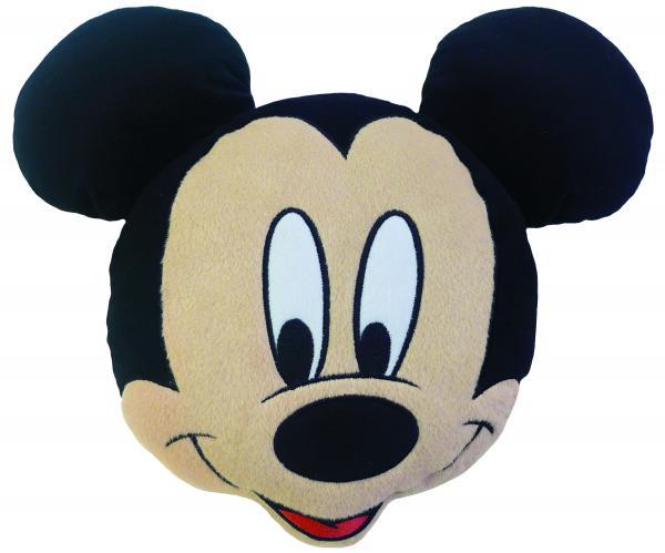 CTI Dětský 3D polštář Mickey Mouse, 38x32 cm