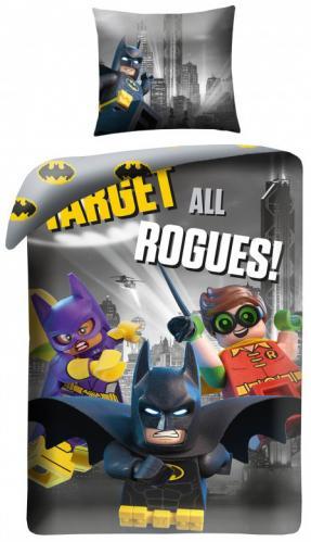 Halantex Dětské povlečení Lego Batman 140x200cm/70x90cm
