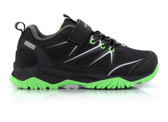 ALPINE PRO Chlapecké outdoorové boty Talish - černé