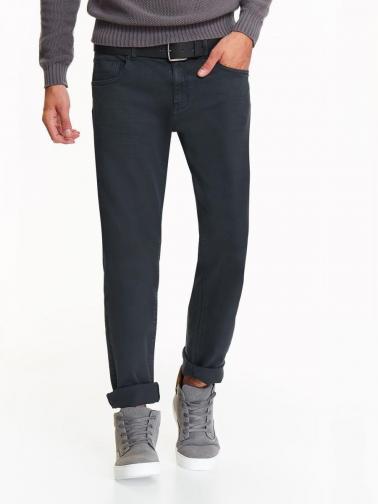 Top Secret Kalhoty pánské tmavě šedé