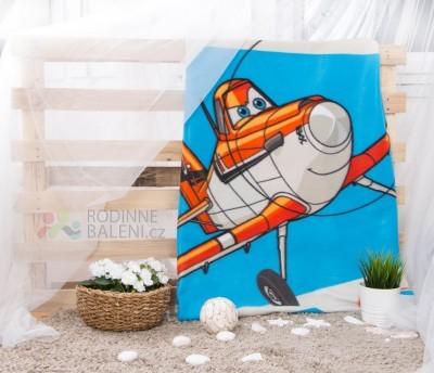 Faro fleece deka Planes/Letadla 03 120x150 polyester