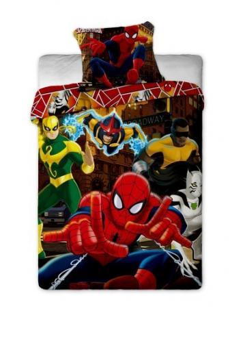 Jerry Fabrics Povlečení Spiderman Hero bavlna 140x200 70x90