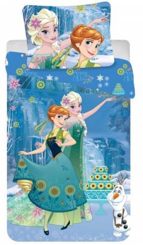 Jerry Fabrics bavlna povlečení Ledové království Frozen Cake 2016 140x200 70x90