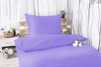 XPOSE ® Bavlněné povlečení na dvě lůžka MICHAELA - fialová 140x200, 70x90