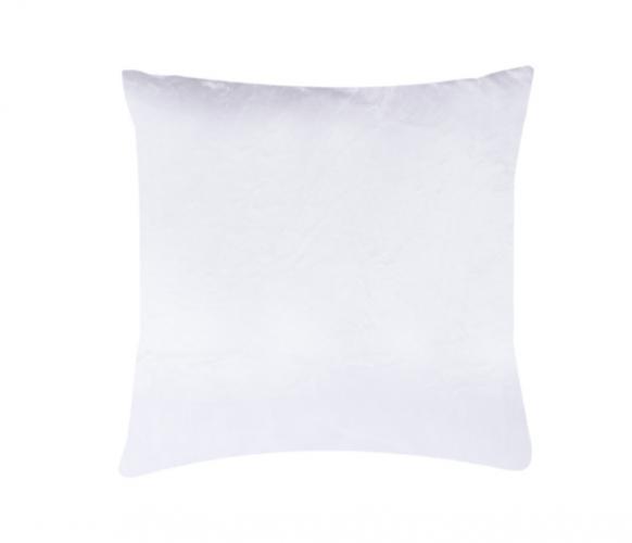 XPOSE ® Povlak na polštář mikroflanel - bílá 40x40 cm