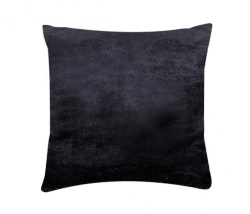 XPOSE ® Povlak na polštář mikroflanel - černá 40x40 cm