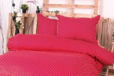 XPOSE ® Francouzské bavlněné povlečení MARKÉTA EXCLUSIVE - červená 200x220, 70x90