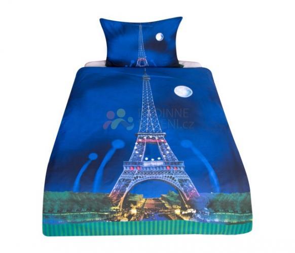 XPOSE ® 3D bavlněné povlečení NOČNÍ PAŘÍŽ 140x200, 70x90
