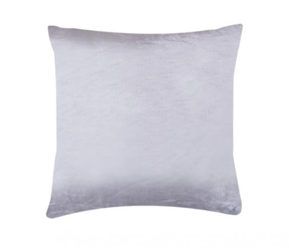 XPOSE ® Povlak na polštář mikroflanel - světle šedá 40x40 cm