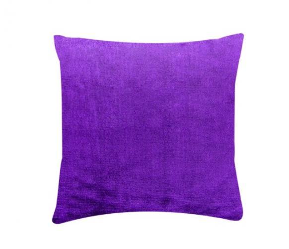 XPOSE ® Povlak na polštář mikroflanel - tmavě fialová 40x40 cm
