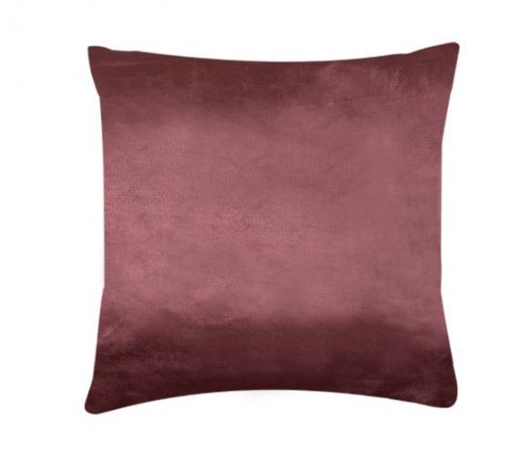 XPOSE ® Povlak na polštář mikroflanel - tmavě hnědá 40x40 cm