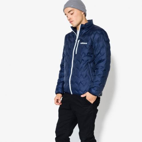 Adidas Bunda Serrated Jacket Muži Oblečení Podzimní Bundy Br4773