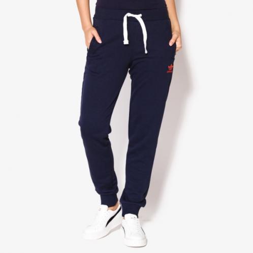 Adidas Kalhoty Regular Cuff T ženy Oblečení Kalhoty Bk5817