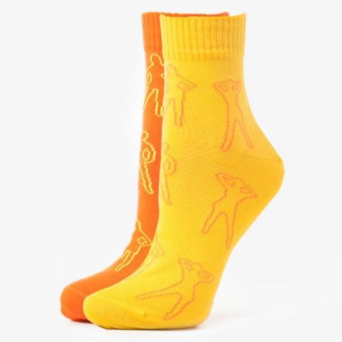 Sizeer Ponožky More 2ppk Quarter Girl ženy Doplňky Ponožky Sizmo069uh18