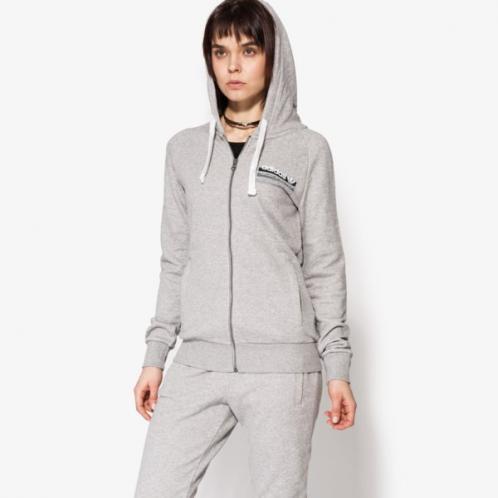Adidas Mikina Fz Hoodie Ft ženy Oblečení Mikiny Bk5807