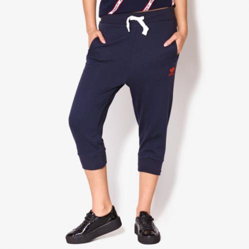 Adidas Kalhoty 3/4 Trackpant ženy Oblečení Kalhoty Bk5828