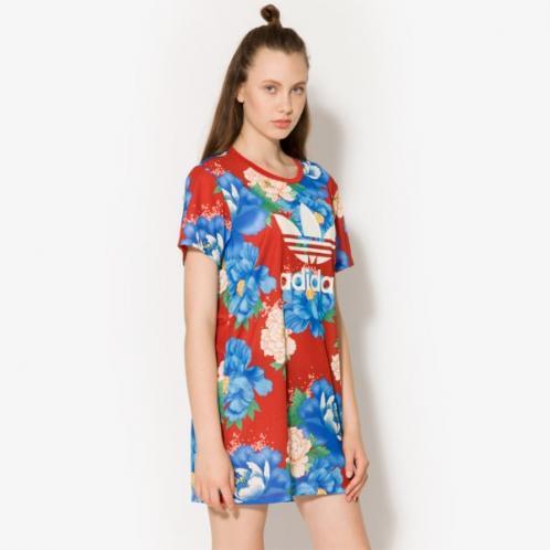 Adidas šaty Trf Tee Teplákys ženy Oblečení šaty Br7864