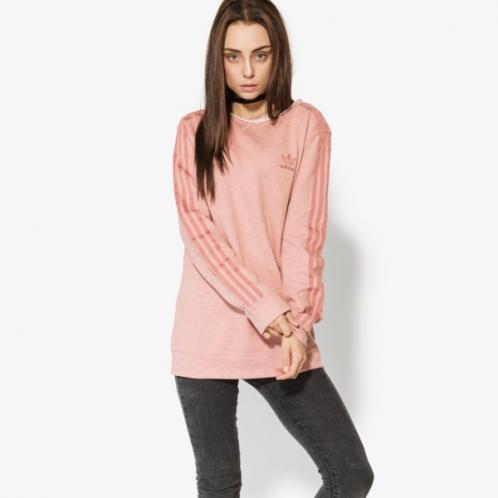 Adidas Mikina Crew Sweater ženy Oblečení Mikiny Br9288